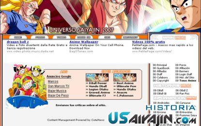 Historia de Universo Saiyajin