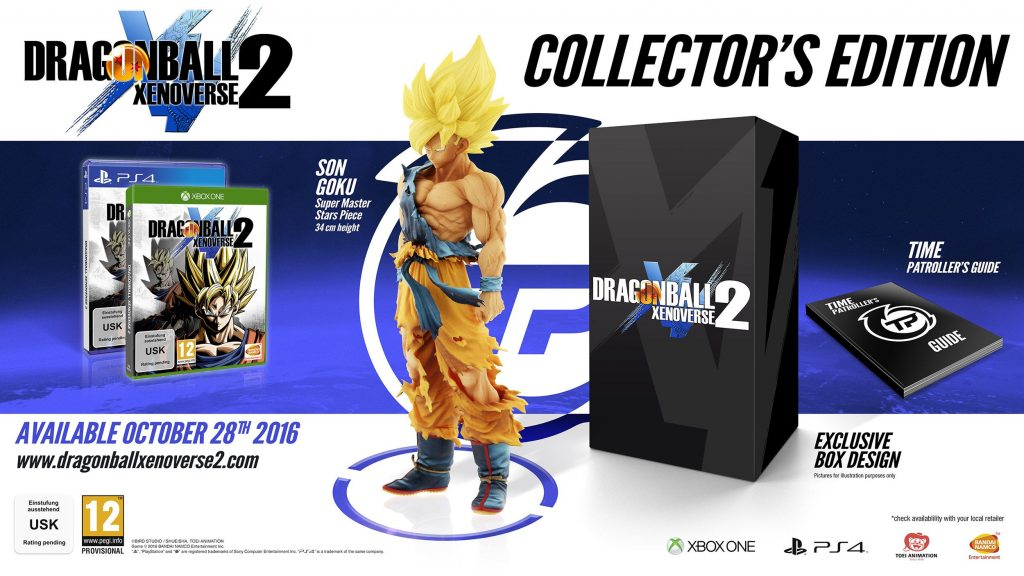 Dragon Ball Xenoverse 2 Edición de Coleccionistas