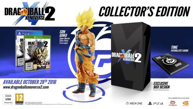 Presentadas las ediciones de reserva y de coleccionistas de Dragon Ball Xenoverse 2