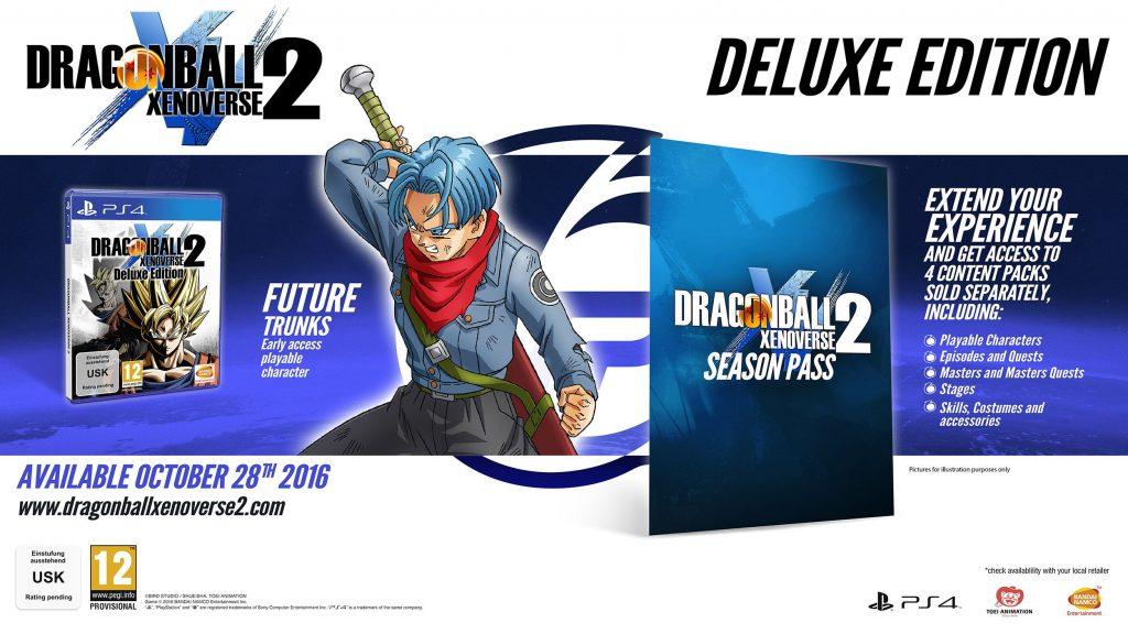 Dragon Ball Xenoverse 2 Edición Deluxe