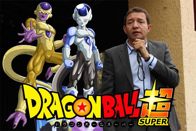 ¡Confirmado! Gerardo Reyero doblará a Freezer y a Frost en Dragon Ball Super