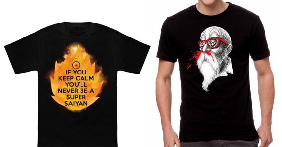 Camisetas De Dragon Ball