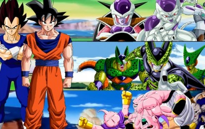Gifs animados de Dragon Ball, Dragon Ball Z, Dragon Ball Super y Dragon Ball GT