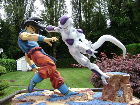 Figura Goku vs Freezer