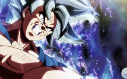 Revelada la fase definitiva de Goku Ultra Instinct (Migatte no Gokui)